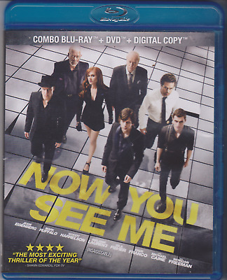 Now you see me Combo [Blu-ray,DVD]