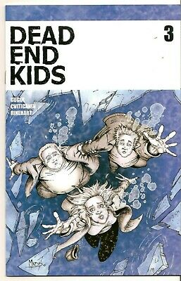 Dead End Kids #3 (Source Point Press 2019) • Nm •Low Print Run Sold Out Unread