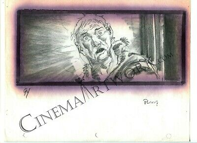 Hand Drawn Mike Ploog Storyboard from THE THING