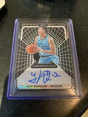Yuta Watanabe 1/1 One Of One Obsidian Matrix Signature NBA Japan