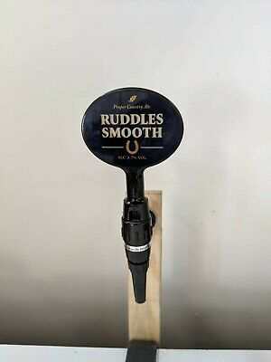 Ruddles Smooth Bitter Beer Pump Or Tbar Tap And Handle
