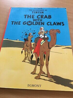 Adventures of Tintin ~ The Crab With The Golden Claws ~ Herge