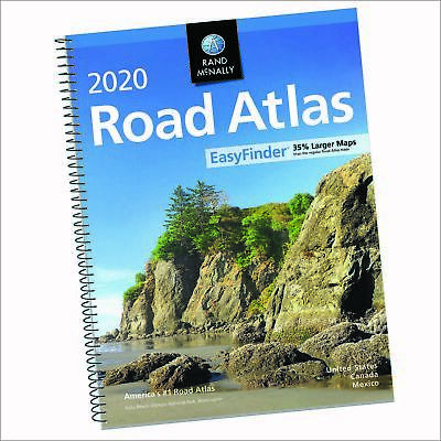2020 Road Atlas USA Larger Scale Travel Maps United States Rand Mcnally New