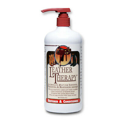 W F Young 084441 Leather Therapy Equestrian Restorer And Conditioner