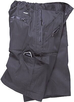 588 Navy Action Shorts Xl S889NARXL Portwest Genuine Top Quality Product New