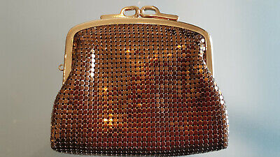Vintage Mesh Purse In Originalbox, Unused Gift ? Nice One !