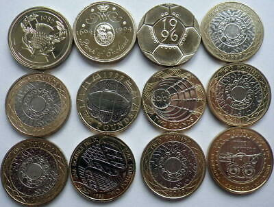 BRILLIANT UNCIRCULATED £2 TWO Pound Coins 1986 -2018 Choice of Year