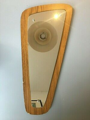 vintage retro Antique g plan mirror teak style danish 1970s wall hanging
