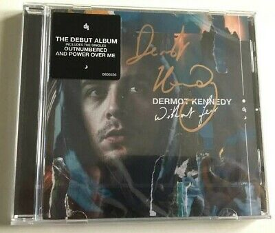 Dermot Kennedy - Without Fear Hand Signed Cd Autographed New Sealed