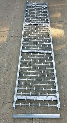 Unex 10'x2' Skate Wheel Gravity Conveyor Steel Wheels. No Shipping pickup only