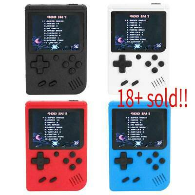 Retro Mini Handheld Video Game Console Gameboy Built-in 400 Classic Game Gifts