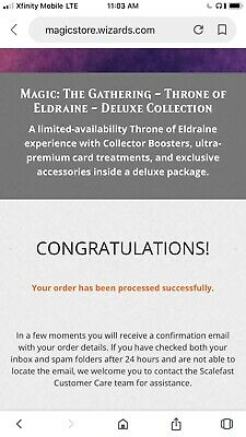 New Throne of Eldraine Deluxe Collection - Magic The Gathering MTG Collector Set