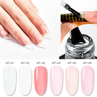 MTSSII 7ml Poly Builder UV Gel Building Nail Tips Quick Extension Gel 6 Colos