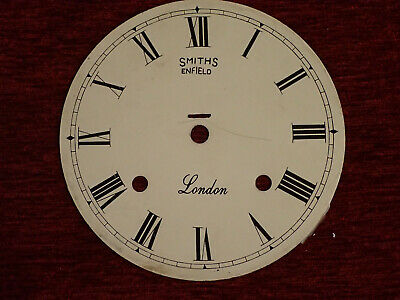 Metal Clock Dial. Smiths Enfield.