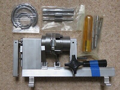 Ollie Baker Clock Mainspring Winder with Let Down Tool and Clamps
