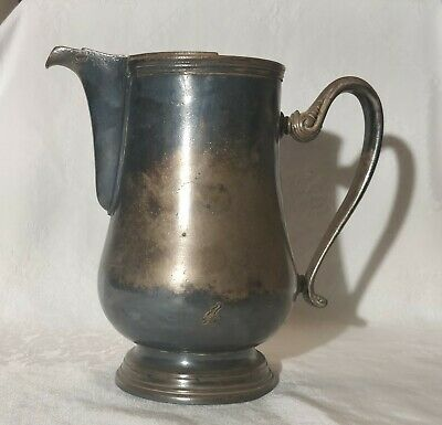 Silver Water Pitcher Sambonet Italy