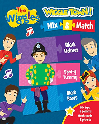 The Wiggles Wiggle Town!: Mix And Match HBOOK NEW