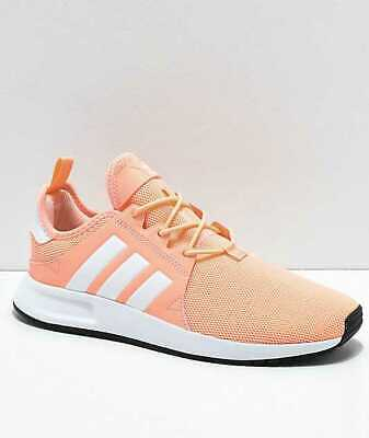 New Big Kids / Girls 7 Adidas X Xplr J In Clear Orange B37818