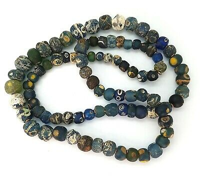 Ancient Islamic Glass Bead Necklace