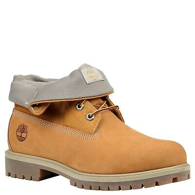 TIMBERLAND TB0A1QZA ROLL TOP Mens Wheat Nubuck Leather