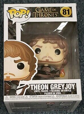 Funko POP! TV Game Of Thrones Theon Greyjoy with Flaming Arrow Mint IN STOCK