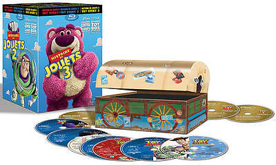 Toy Story Ultimate Toy Box Collection [Blu-ray/DVD Combo + Digital Copy]