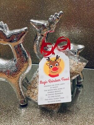 Magic REINDEER FOOD Magical CHRISTMAS EVE DUST Kids Activity SANTA Tradition NEW