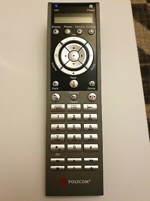 Genuine Polycom HDX 2201-52556-001 Video Conferencing Remote Control Replacement