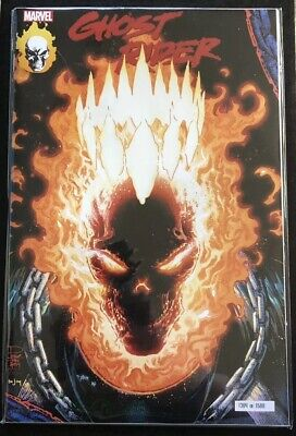 Marvel Ghost Rider #1 GITD Homage Variant Comic NYCC 2019 Exclusive IN HAND 1364