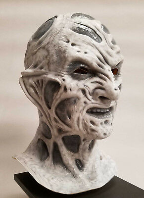 Freddy Krueger Stunt Mask  5   Scary Nightmare SPECIAL EDITION Gray Scale