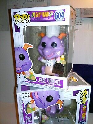 Funko Pop Chef Figment #604 Epcot Food and Wine Disney Parks -*IN HAND + EcoTEK