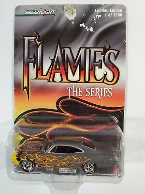 1967 CHEVY IMPALA SS 427    2006 GREENLIGHT FLAMES THE SERIES  1:64  1//1500 MADE