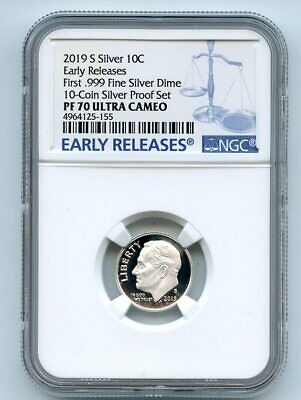 2019 S NGC PF 69 Red UCAM Lincoln Shield ☆☆ Early Releases ☆☆ Silver Set Label