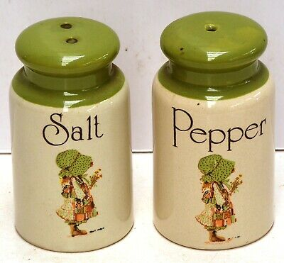 Holly Hobby Salt & Papper Shakers