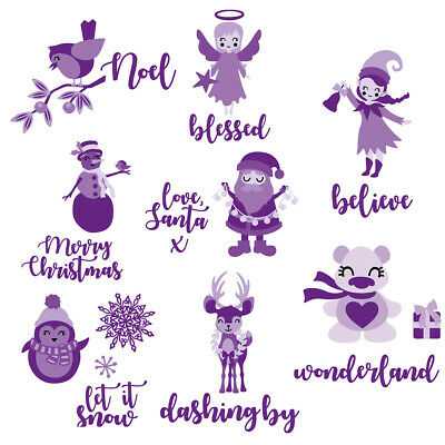 Christmas Decoration Metal Cutting Dies Stencil Scrapbooking Paper Cards Crafts
