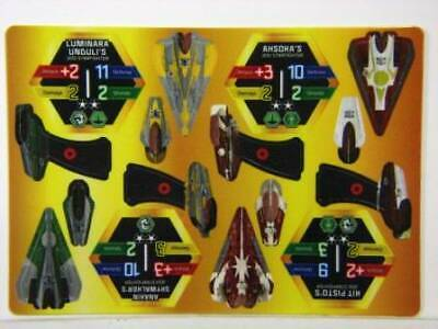 O66 18 STAR WARS POCKETMODEL JEDI STARFIGHTERS