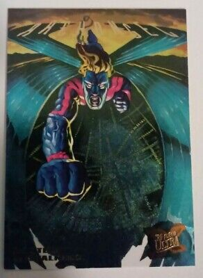1995 Fleer Ultra X-Men Hunters and Stalkers #9 Archangel near mint