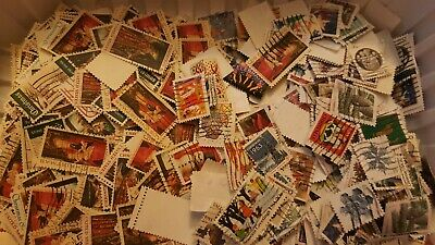 US Used/Canceled Postage Stamps - 50 Different Christmas Holiday Stamps