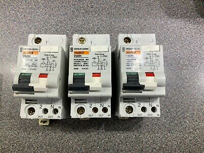 Merlin Gerin Multi 9 V40H 32Amp Rcd/ Mcb  Single Phase Rcbo