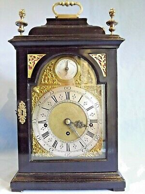 Triple Fusee 8 Bell Bracket Clock.