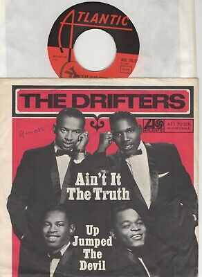 "7"" The Drifters - Ain`t it the truth - Germany 1967 - PS - rare Atlantic 70226"