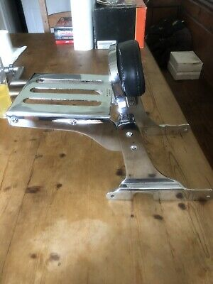 Harley davidson sportster sissy bar and rack
