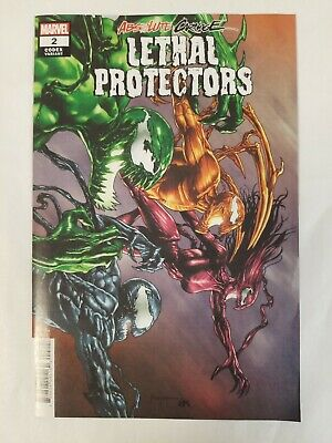 Absolute Carnage Lethal Protectors #2 MARVEL 1:25 Mico Sauyan Variant Cover VF