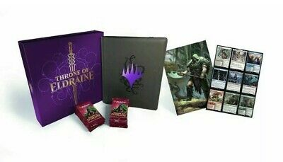 NEW In-box Magic the gathering MTG Throne of Eldraine Deluxe Collection!