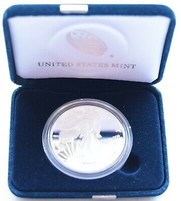 Kappyspenny 2018S Gem Cameo Proof American Silver Eagle Dollar Box And Coa