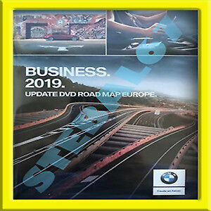 Dvd Cd Bmw Road Map Europe Business  2018-2019 Mappe Navigatore Navigazione
