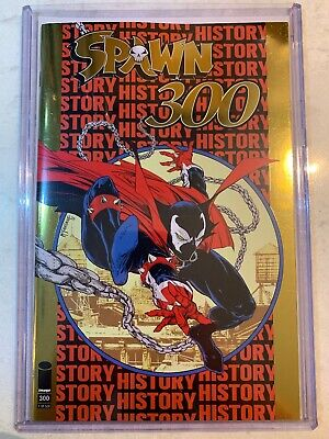 Spawn #300 Gold Foil Image Comics Todd Mcfarlane Nycc 2019 Exclusive