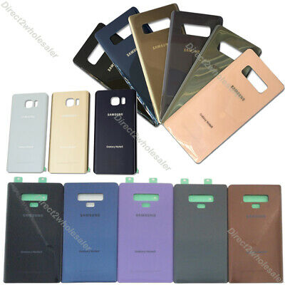 OEM For Samsung Galaxy Note 9 Note 8 Note 5 Back Battery Glass Cover Replacement