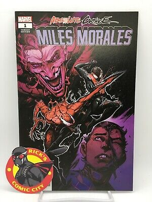 ABSOLUTE CARNAGE MILES MORALES #1 IBAN COELLO VARIANT Marvel Comics Spider-Man