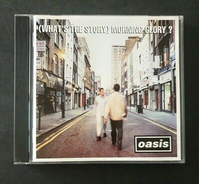OASIS - '(What's The Story) Morning Glory?' 1995 CD Album